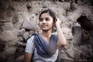 Fandry Movie Actress Rajeshwari Kharat as Shalu