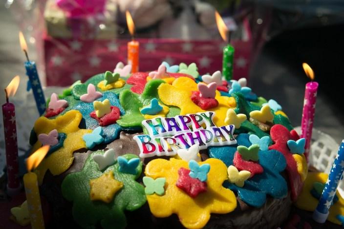 tarta de cumpleaños II