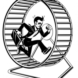 Get out of the Hamster Wheel!