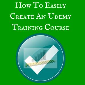 Create Udemy Training Course