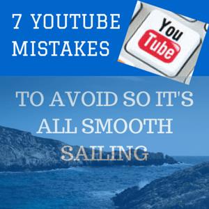 YouTube Mistakes To Avoid