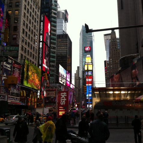 47th St, vicino Times Square