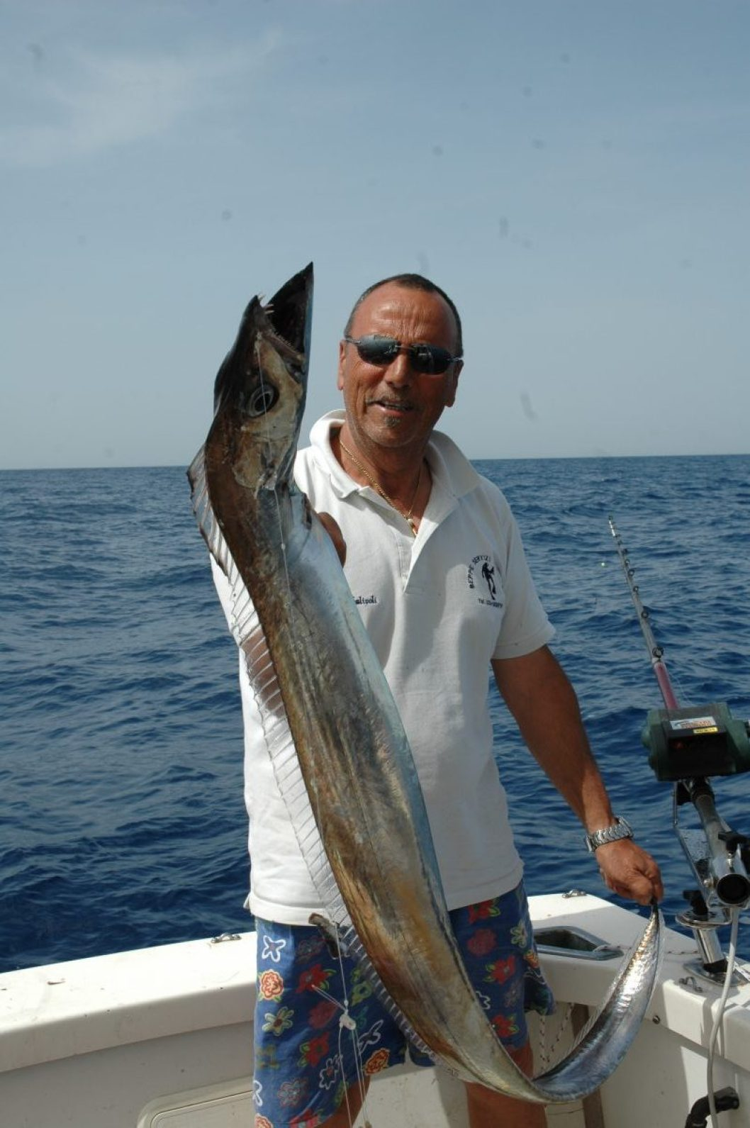 Il pesce sciabola può essere catturato fino ad oltre 400 metri di profondità