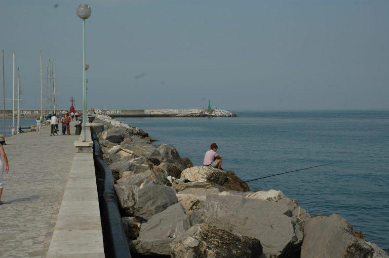 Viareggio: Veduta esterna del canale Burlamacco