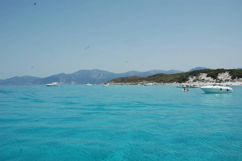 La spiaggia della Seleccia a S. Florant in Corsica