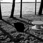 Chair and Table, Gunn Lake, MN
