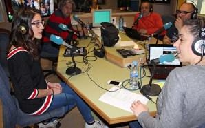 Violeta Moon e Daniel Estorach na Radio Galega