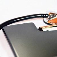 ファイルと聴診器