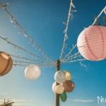Mariage Réunion Ma Régisseuse wedding planner cérémonie laïque plage filaos lanternes guirlandes