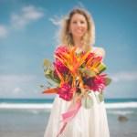 Demande en mariage Audrey & Nicolas Ma Régisseuse bouquet plage wedding planner