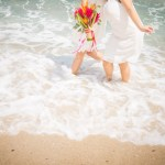Demande en mariage Audrey & Nicolas Ma Régisseuse wedding planner plage bouquet