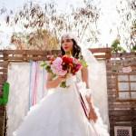 Shooting inspiration mariage mexicain Ma Régisseuse La Réunion bouquet fleurs