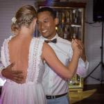 mariage, robe, danse,