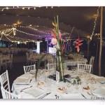 mariage, décoration, fleurs, guirlande,