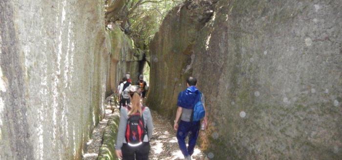 Escursione nelle Città del Tufo con il Grandama MTB