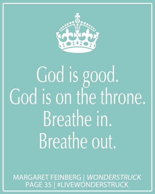 God is good Mint
