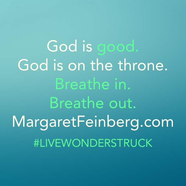God Is With You Even In This (and a Wonderstruck Wednesday Challenge)