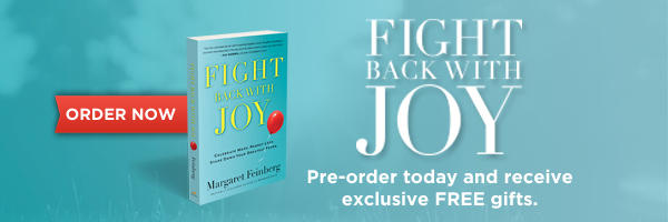 Announcing Margaret's Newest Release: Fight Back With Joy