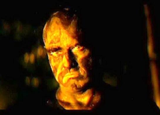Brando as Colonel Kurtz