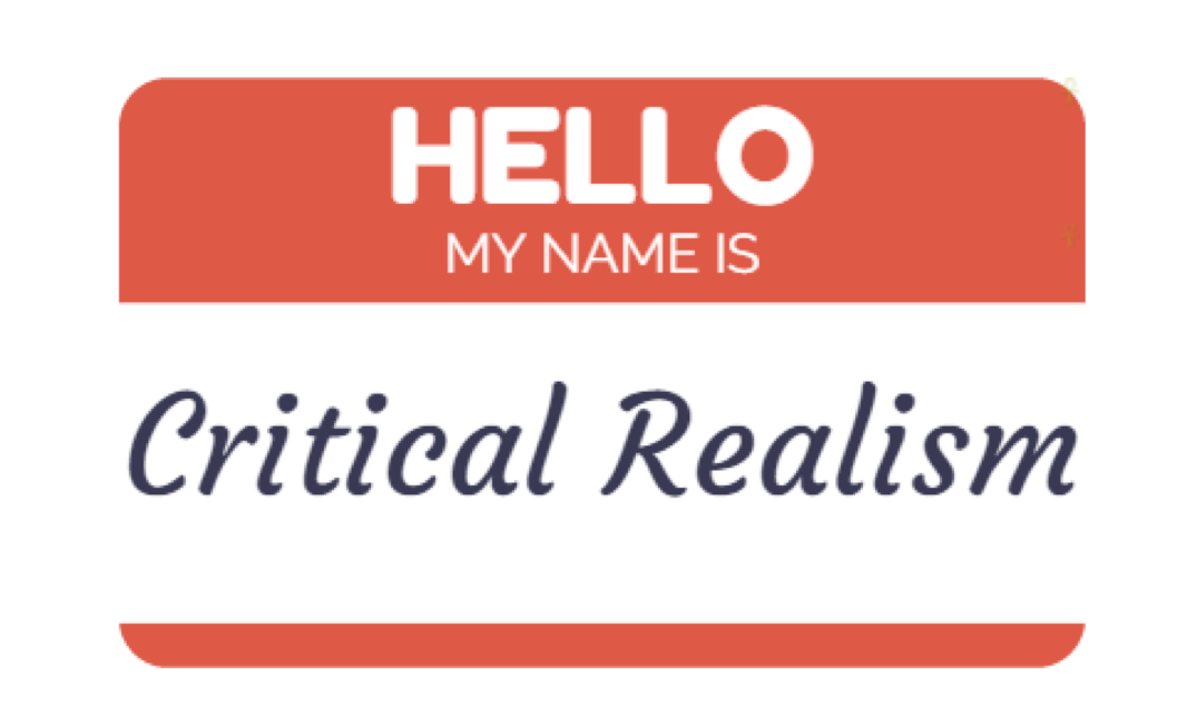 Critical Realism and Sociological Research Methods Webinar April 28th