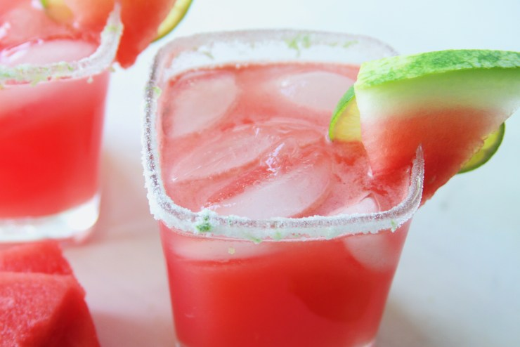 Cocktail Hour: Watermelon Lime Margarita