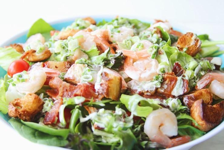 Shrimp Club Salad