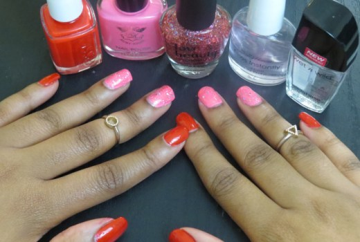 valentines day nail tutorial