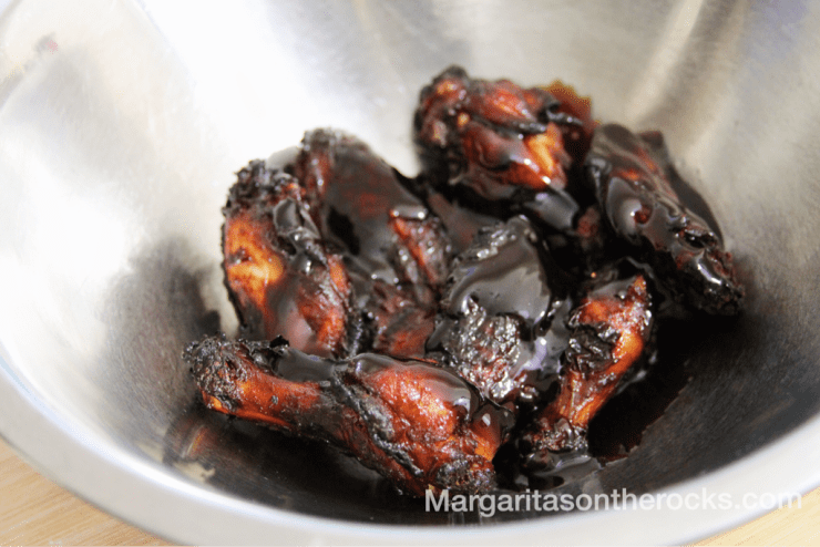 Honey Teriyaki Chicken WIngs Recipe