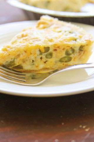Green Bean Casserole Quiche