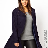 Wear to Shop  //  Review - ASOS Curve Fit &Flare Coat