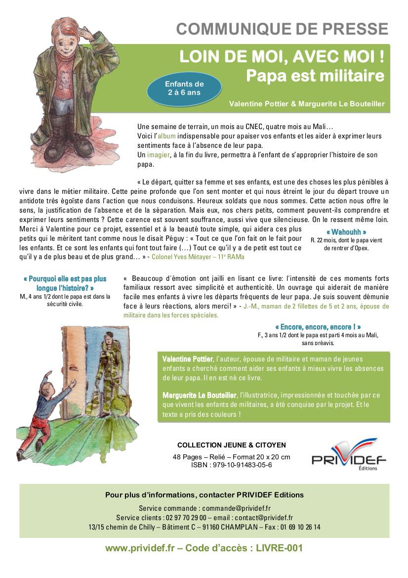 COMMUNIQUE DE PRESSE V4