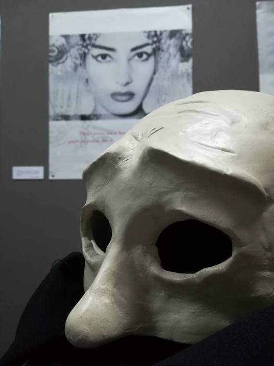 Maria Callas Alumni Association Exhibition Masks for the Performance AristoΦanes / Designer Fani Kanatzia