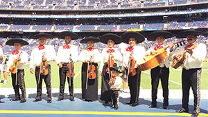 Mariachi Real Performs During The Chargers Game