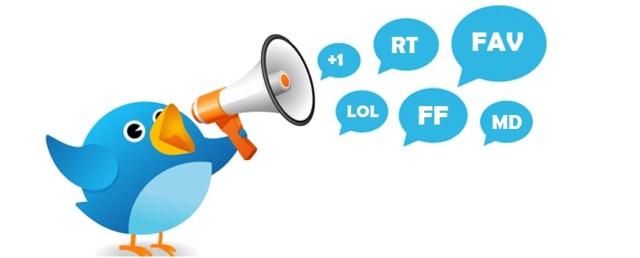Abreviaturas Twitter