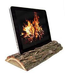 fireplace ipad