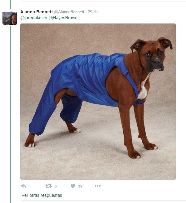pantalones perro peto