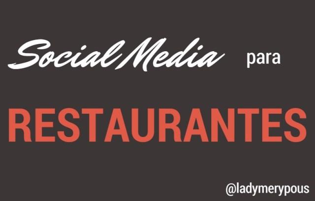 social media para tu restaurante dest