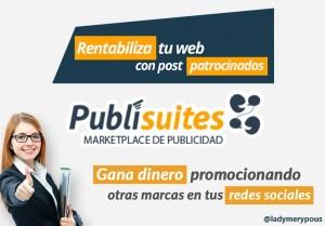 Cómo ganar dinero con un blog usando Publisuites