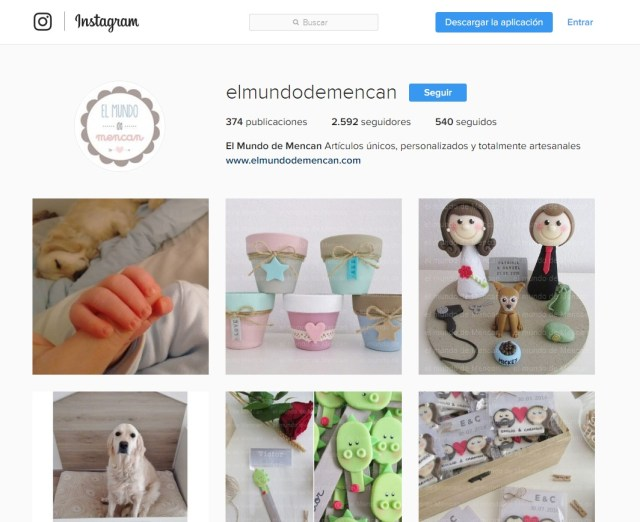 el mundo de mencan instagram maria en la red