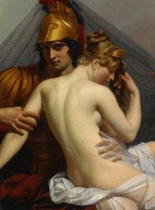 Guillemot Alexandre Charles, Mars and Venus Surprised by Vulcan detail 1827.