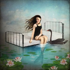 Christian Schloer digital Art - Kay's Dream - Reprodução
