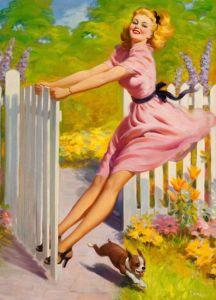 Art Frahm - Pintor americano - Reprodução