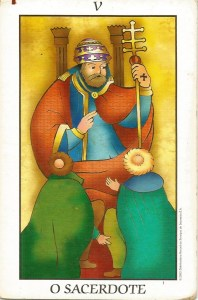 Arcano 5 - O Sacerdote