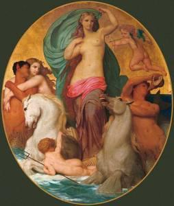 Vênus Triufante - William A. Bouguereau - Reprodução