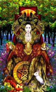 Rainha de Ouros - Reprodução