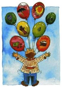 """Ilustração do poema de Cecília Meireles """"Ou isto ou aquilo"""" - Desconheço o autor - Reprodução"""