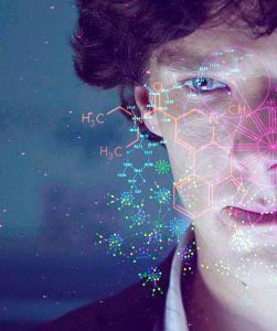 """Benedict Cumberbatch como Sherlock Holmes, na série """"Sherlock"""", produção da BBC - Reprodução"""