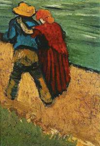 lovers van gogh