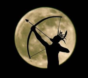 Luna-arquero