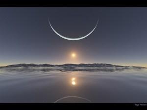 lua-e-sol-no-polo-norte-by-inga-nielsen